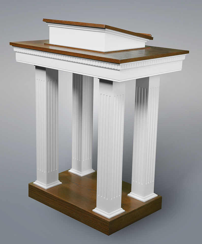 8401-Pulpit-Two-Tone
