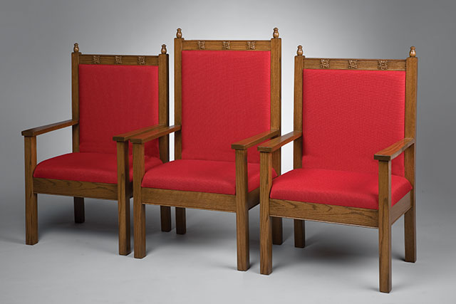 Miller-Gray Wood Frame Chairs
